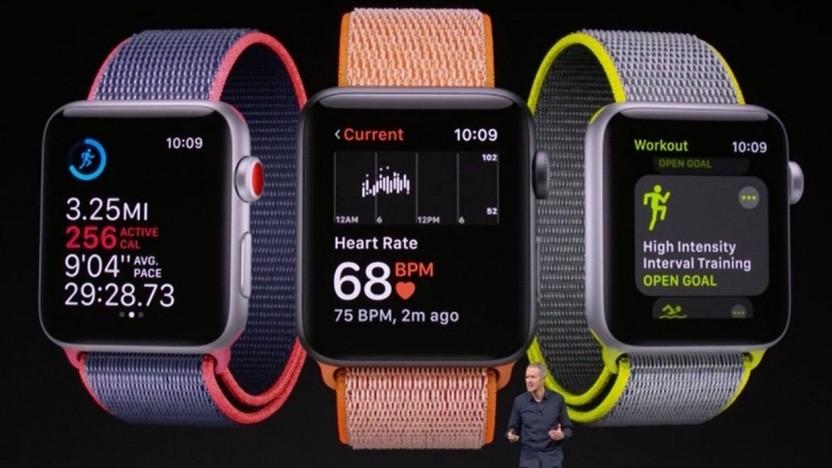 Die Vorstellung der Apple Watch 3