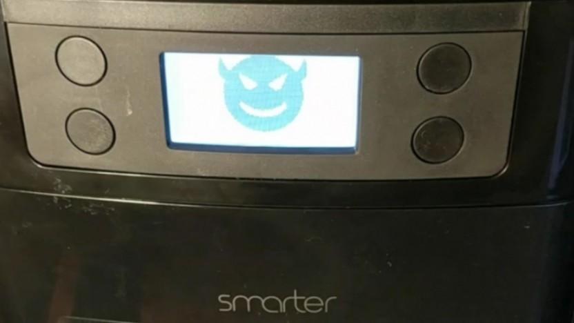 Ransomware auf dem Coffee Maker von Smarter