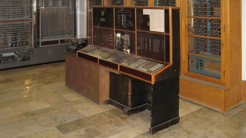 Der Zuse Z4 im Deutschen Museum in München