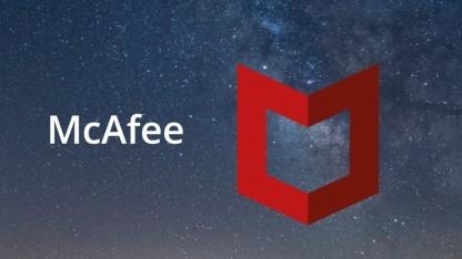 Logo von McAfee