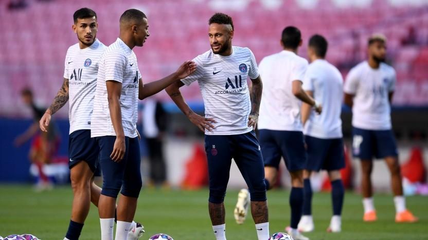 Mutmaßlich ebenfalls schwierig ins Team zu integrieren: Neymar jr.