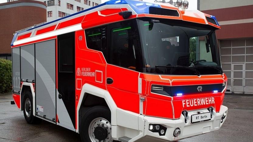 Neues elektrobetriebenes Lösch- und Hilfeleistungsfahrzeug