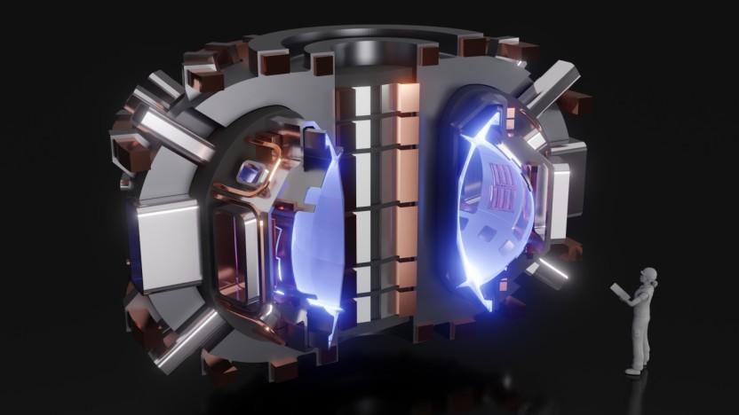Der Sparc-Reaktor soll Kernfusion ähnlich wie Iter demonstrieren.