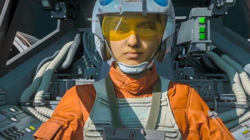 Szene aus der Kampagne von Star Wars Squadrons