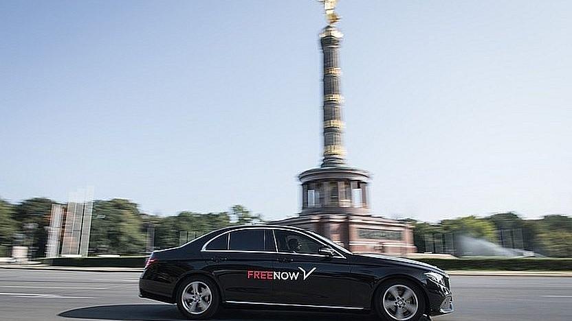Free Now bietet auch günstige Alternativen zum Taxi.