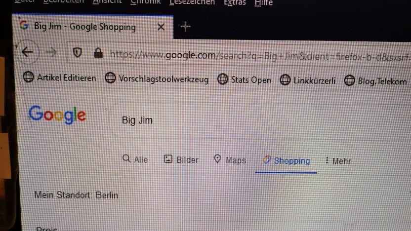 Google Shopping auch für Sammler