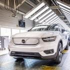 Ausverkauft: Volvos vollelektrischer XC40 Recharge läuft vom Band
