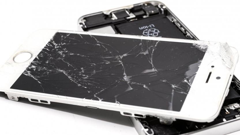 Kaputtes iPhone (Symbolbild)