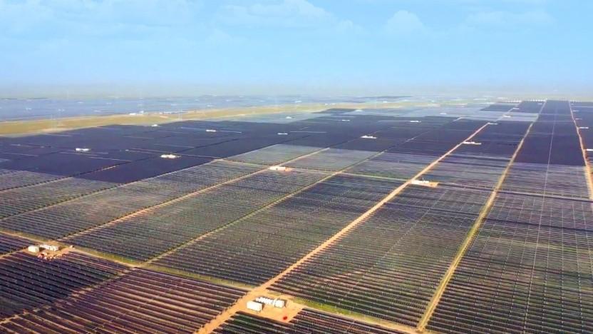 Solarpark in Qinghai: sauberer Strom aus dem Westen für den boomenden Osten