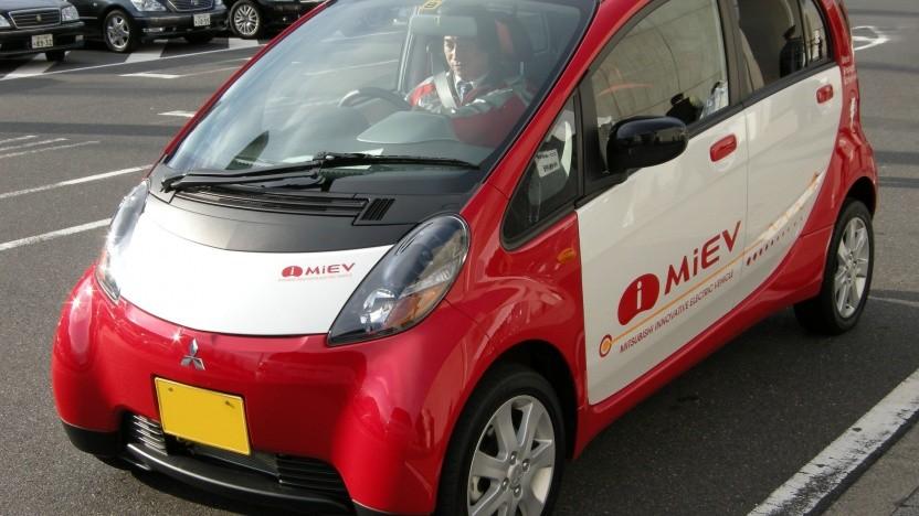 i-MiEV von Mitsubishi