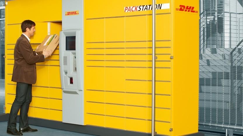 Bei DHL lassen sich bald alle Paket-Lieferungen an Packstationen schicken.