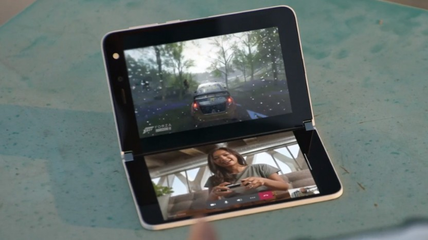 Das Surface Duo ist Microsofts erstes Dual-Screen-Gerät der Reihe.