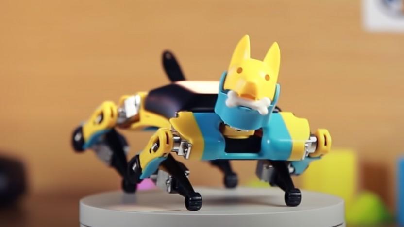 """Bei Fuß, Roboter!"""
