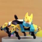 Kickstarter: Nibble ist ein vierbeiniger Laufroboter im Mini-Format
