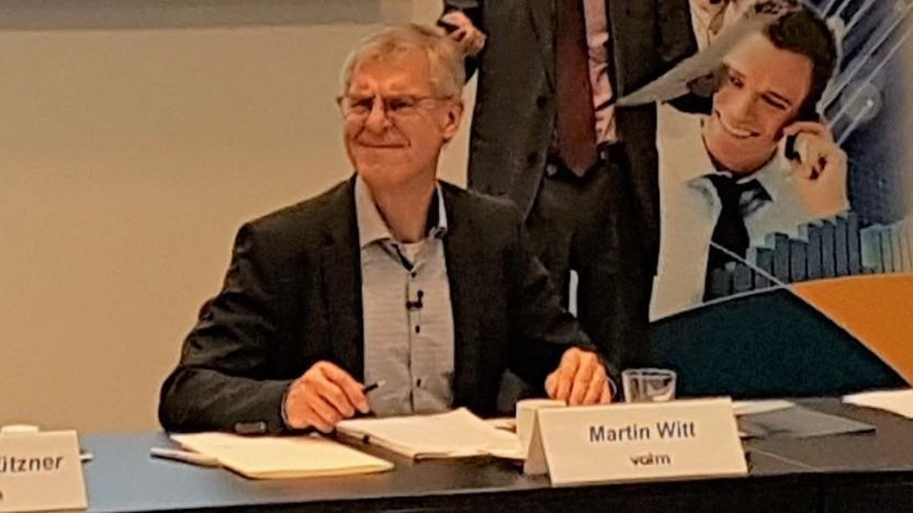 Martin Witt, Präsident des VATM