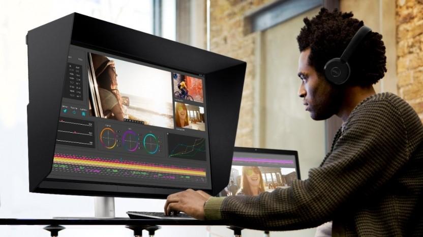 Ultrasharp 32 UP3221Q richtet sich an den professionellen Bereich.
