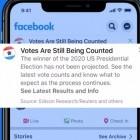 Missbrauch befürchtet: Facebook verbietet politische Anzeigen nach US-Wahl