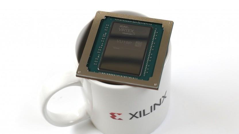 FPGAs wie der Virtex VU19P werden für CPUs/GPUs benötigt.