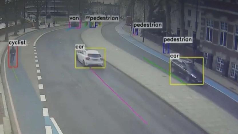 Vivacity gewinnt Daten zum Verkehrsgeschehen.