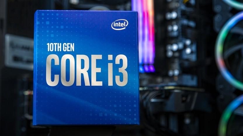 Packung eines aktuellen Core i3