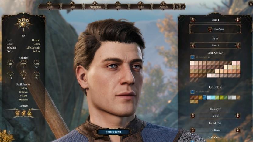 Typischer Held in Baldur's Gate 3
