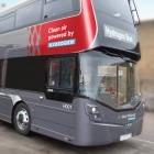 Nachhaltigkeit: Wasserstoff-Doppeldeckerbus im Einsatz