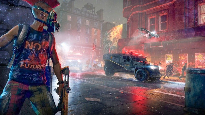Artwork von Watch Dogs Legion