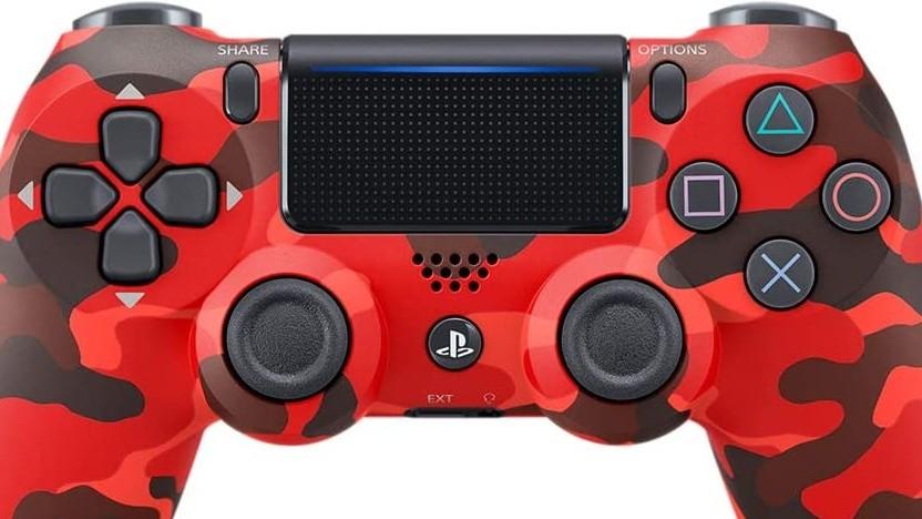 Artwork des Eingabegeräts von Playstation 4