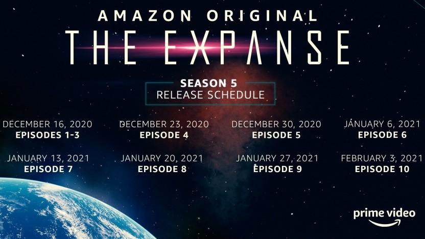 The Expanse Staffel 5 wird bis in den Februar 2021 gezogen.