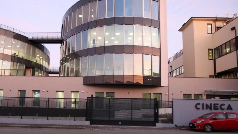 Haupgebäude des Leonardo-Betreibers Cineca