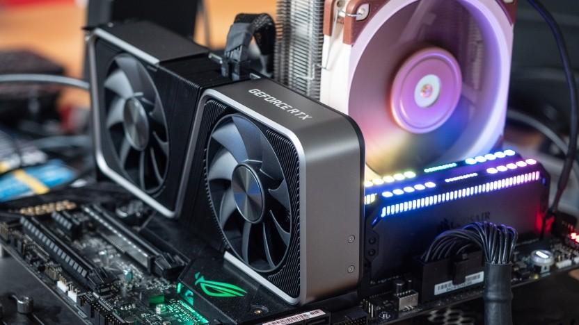Geforce RTX 3070 als Founder's Edition