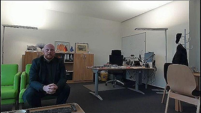 Tim Brauckmüller von Atene Kom am 15. Oktober 2020 auf der Fiberweek des Breko