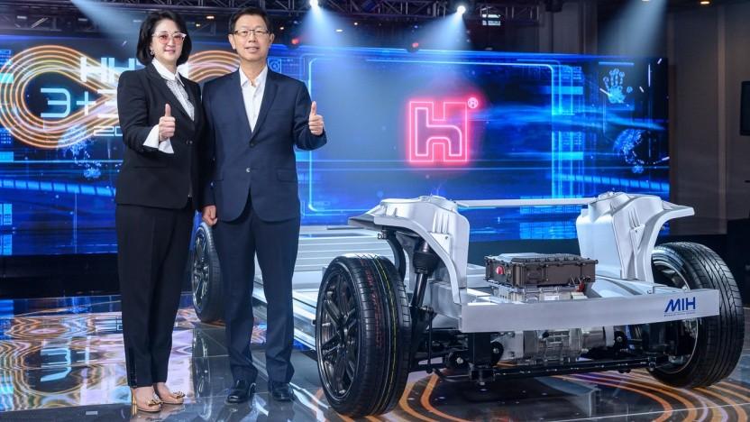 Die neue E-Auto-Plattform von Foxconn