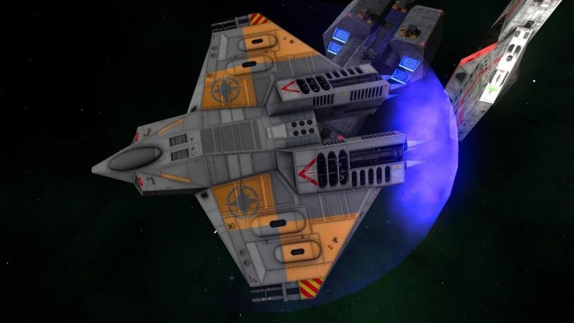 Artwork der Mod von Wing Commander 4