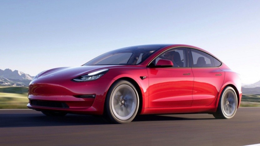 Tesla Model 3 nach dem Facelift