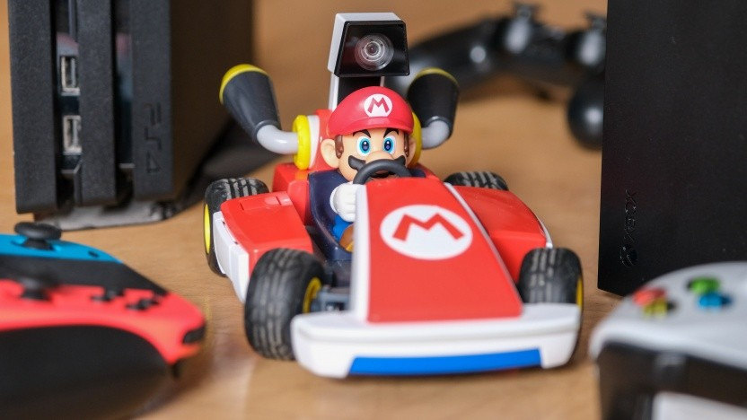 Mario Kart Live bei Golem.de im Homeoffice