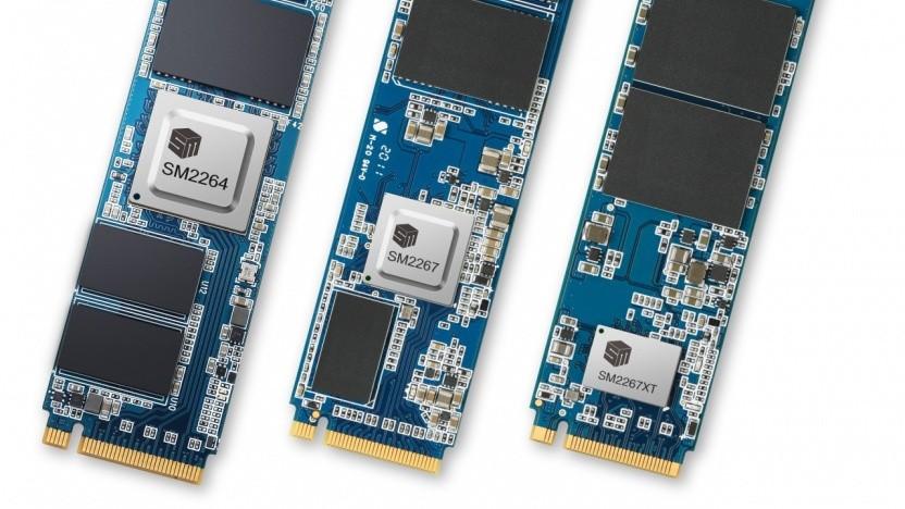 SSDs mit Controller
