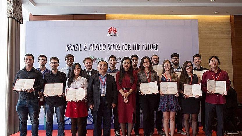 Huawei-Beschäftigte in Brasilien