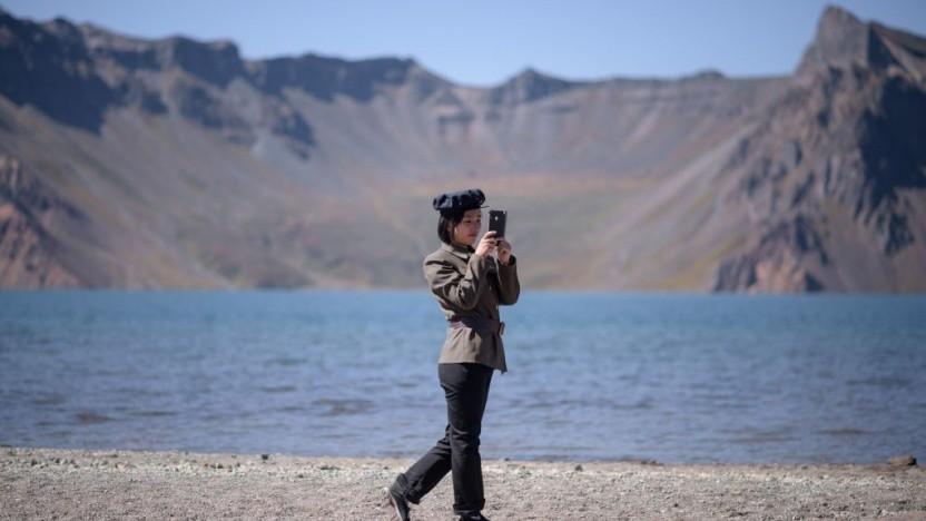 Künftig dient das Smartphone in Nordkorea nicht nur zum Fotografieren, sondern auch zum Bezahlen.