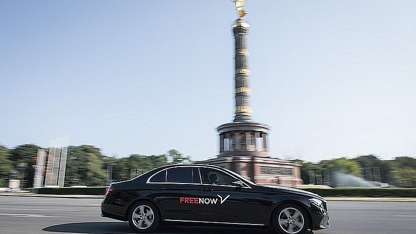 Free Now: Ride ist oft künftiger als ein Taxi