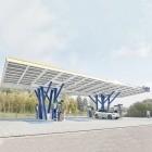 A8 Leonberger Kreuz: EnBW zeigt Ladepark der Zukunft