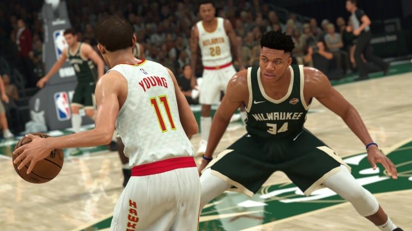 Artwork aus dem Sportspiel NBA 2K21