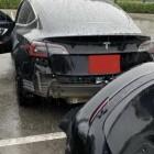 Konstruktionsfehler bestätigt: Model 3 verliert hinteren Stoßfänger durch Regen
