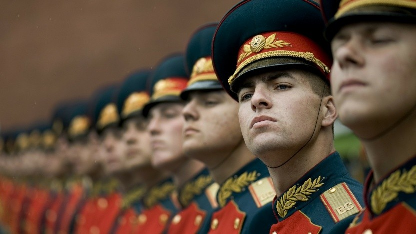 Russisches Militär (Symbolbild)