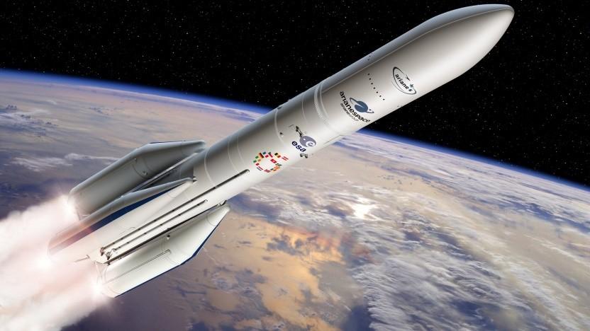 Die Ariane 6 existiert bislang nur als Computergrafik. Das wird bis 2022 wohl so bleiben.