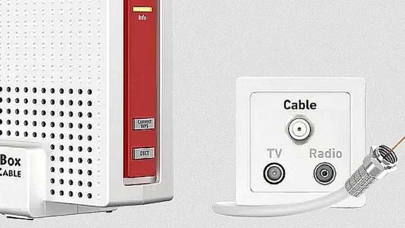 Der einzige Anbieter von Kabelroutern