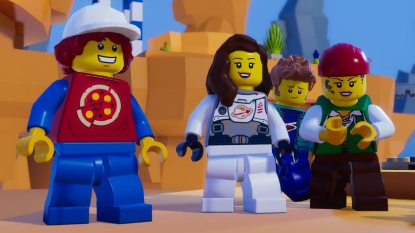 Artwork des Lego Microgame