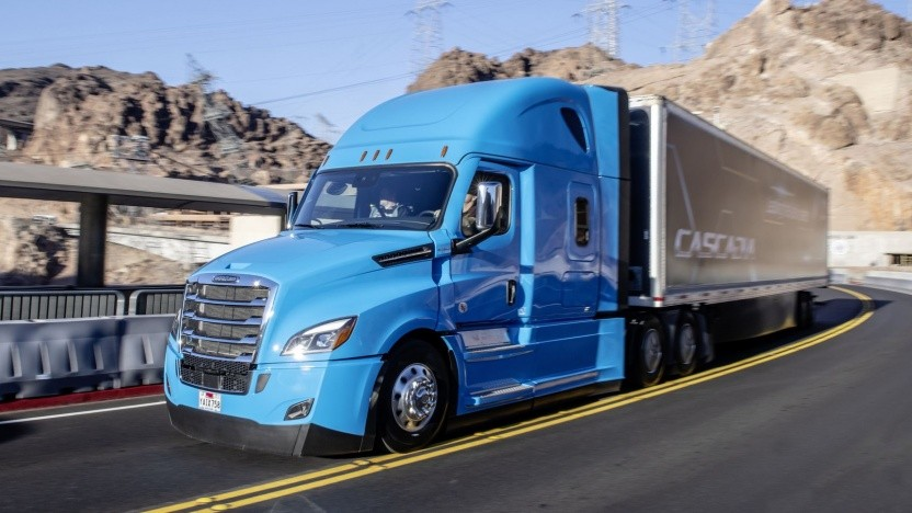 Freightliner Cascadia: In wenigen Jahren hochautomatisiert unterwegs?