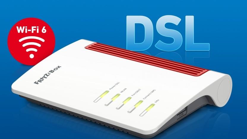 Die Fritzbox 7530 AX ist für DSL-Anschlüsse gedacht.