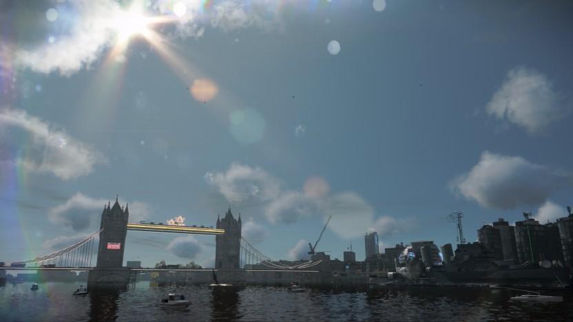 Tower Bridge im virtuellen London